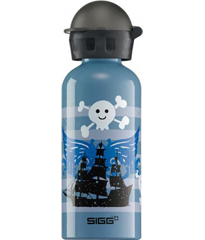 Sigg Gourde Sigg enfant Pirate Fun grise 0.4 litre