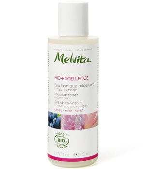 Melvita Bio Excellence Eau tonique micellaire Rose, Néroli, Cassis 200ml