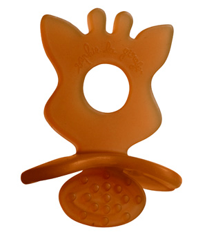 Vulli Sucette de dentition Chewing Rubber SO'PURE Sophie la girafe