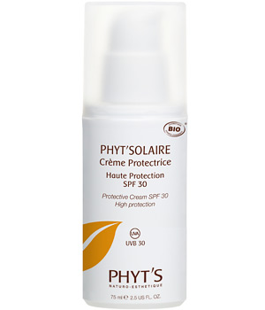 Phyts Crème solaire haute protection Spf 30 tube 75ml