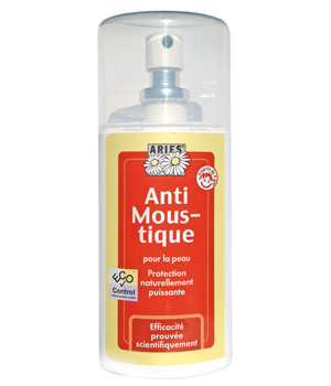 Aries Spray vapo Lotion Anti Moustiques formule tropicale 100ml