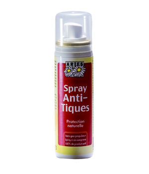 Aries Spray anti tiques répulsif naturel 50ml