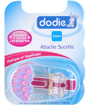 Dodie Attache sucette (n°5) x 1 coloris Fille