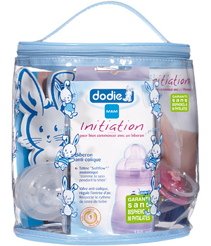 Dodie Vanity Initiation Fille (biberon 150ml + 2 tétines + 1 sucette + crochet + brochure)