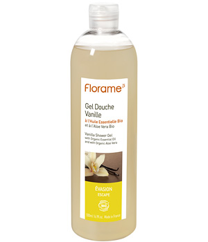Florame Gel douche Vanille 500ml