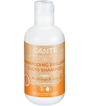 Sante Shampoing brillance Orange et Coco 200ml