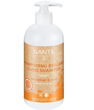 Sante Shampoing brillance Orange et Coco 950ml