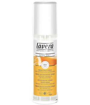 Lavera Déodorant spray fraîcheur Orange Argousier Body SPA 75ml