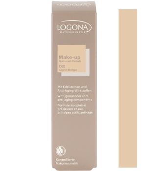Logona Fond de teint natural finish n°2 Light Beige 30ml