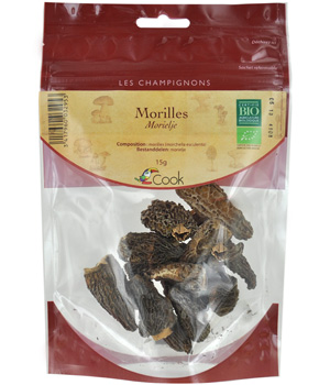 Cook Morilles en sachet refermable 15g