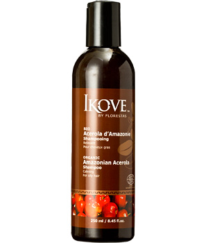 Ikove DLUO 06/2013 Shampoing relaxant cheveux gras Acérola d'Amazonie 250ml