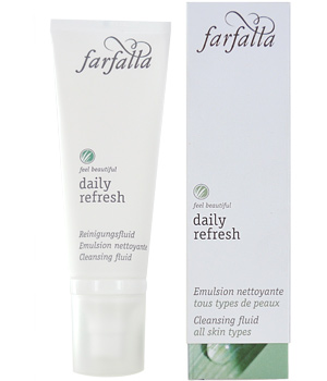 Farfalla Daily Refresh Emulsion nettoyante Aloe et Tournesol 75ml