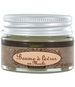 Forest People Baume à lèvres au Moabi naturel 10ml