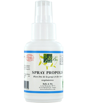 Belle et Bio Spray à la Propolis 50ml