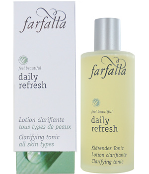 Farfalla Daily Refresh Lotion clarifiante Aloe et Hamamélis 80ml