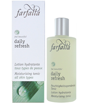 Farfalla Daily Refresh Lotion hydratante Aloe et Centella 80ml