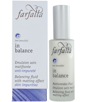 Farfalla In Balance Emulsion soin matifiante à l'extrait de Lin 30ml
