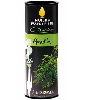 Dietaroma Huile essentielle culinaire d'Aneth 10ml