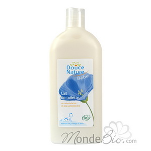 Douce Nature Lait de toilette au Calendula Bio 300ml