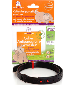 Anibiolys Collier antiparasitaire grand chien 60cm