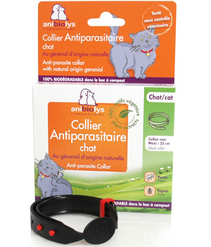 Anibiolys Collier antiparasitaire chat adulte 35cm