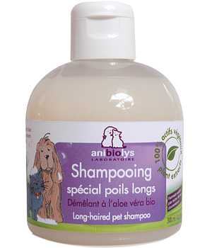 Anibiolys Shampooing spécial poils longs 300ml