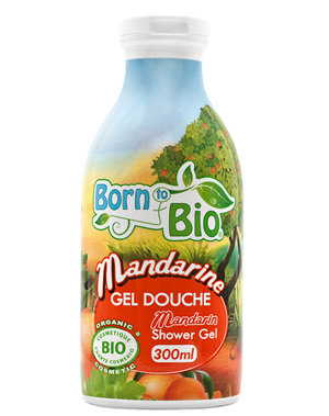 Born To Bio Gel douche Mandarine 300ml