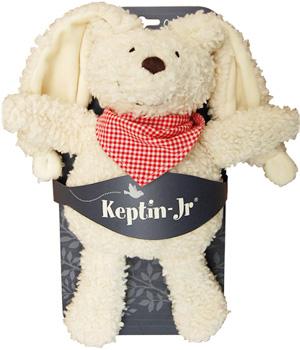 Keptin jr Doudou Cuddle Rabby Rouge 28cm
