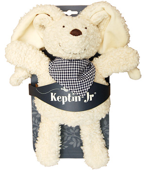 Keptin jr Doudou Cuddle Rabby Bleu 28cm