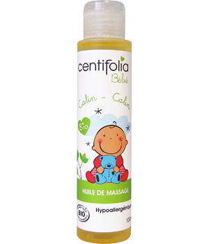 Baby hypoallergenic massage oil