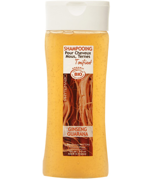Phytemabio Shampoing tonifiant Ginseng et Guarana cheveux ternes, mous 150ml