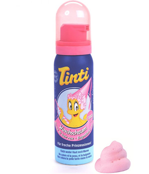Tinti Mousse de bain Rose 75ml
