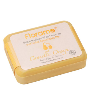 Florame Savon de Provence Cannelle Orange 100g