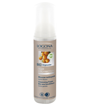 Logona Age Protection Mousse nettoyante extra douce 70ml