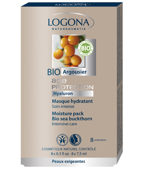 Logona Age Protection Masque hydratant 8x7.5ml