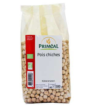 Primeal Pois chiches 500g