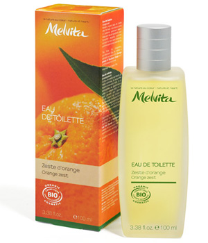 Melvita Vaporisateur d'Eau de toilette Zeste d'Orange 100ml