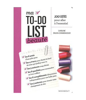 Ed. Marabout Ma To do List beauté