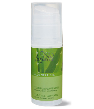 Farfalla Gel d'Aloe Vera Tea Tree Lavande 50ml