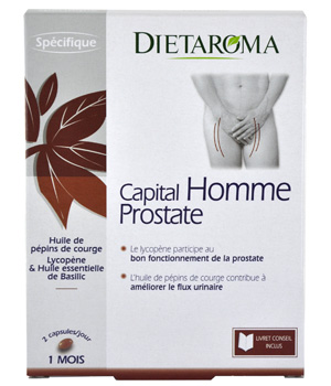 Dietaroma Capital Homme Prostate 60 capsules