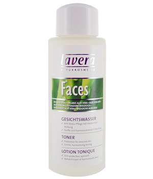 Lavera Lotion tonique Aloès peau sensible FACES 50ml