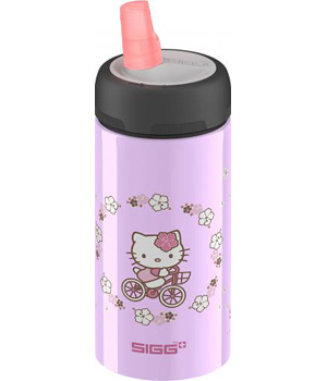 Sigg Gourde Active Top Hello Kitty bike 0.4 litre