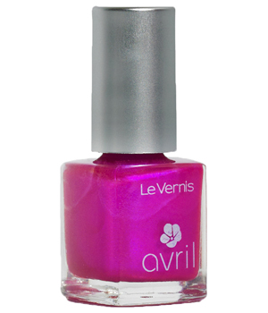 Avril Vernis à ongles Rose Bonbon Nacré n°64 7ml