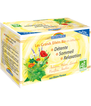 Biofloral Infusion Elixir Détente Sommeil Relaxation 24g