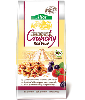 Allos  Crunch Fruits rouges 400g