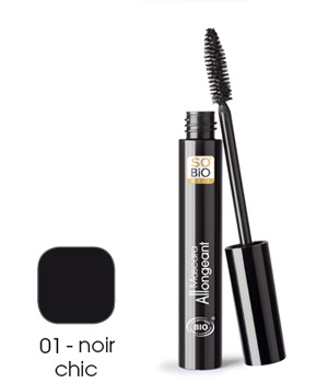 So'Bio étic Mascara allongeant 01 noir chic 10ml