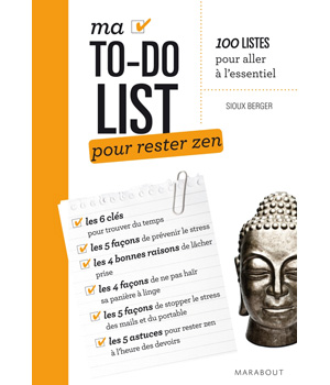 Ed. Marabout Ma To do list pour rester zen