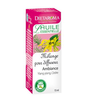 Dietaroma Mélange diffuseur: Ambiance Ylang Ylang Cèdre 15ml