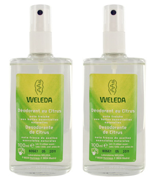 Weleda Duo Déodorant spray Citrus 2X100ml