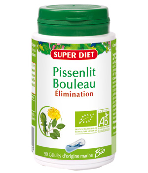 SuperDiet Pissenlit bouleau Elimination 90 gélules
